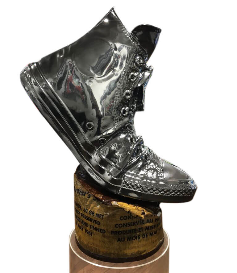 Eden Fine Art - Angelo Accardi - Converse shoe sculpture